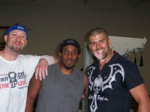 Strength & Kettlebell Coaches Jason Dolby, Sincere Hogan, & Mike Mahler @ Mahler's Collision Course Workshop in Las Vegas