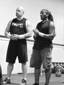 IKFF coaches Ken Blackburn & Sincere Hogan