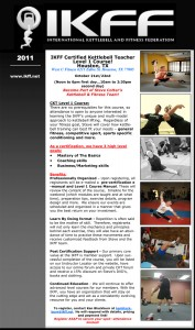 IKFF Kettlebell Certification (CKT1 & 2) in Houston