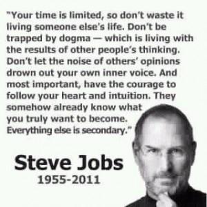 Steve Jobs, R.I.P. (1955-2011)