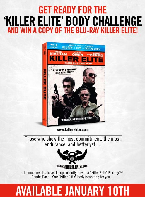"""Killer Elite"" Movie Body Challenge"