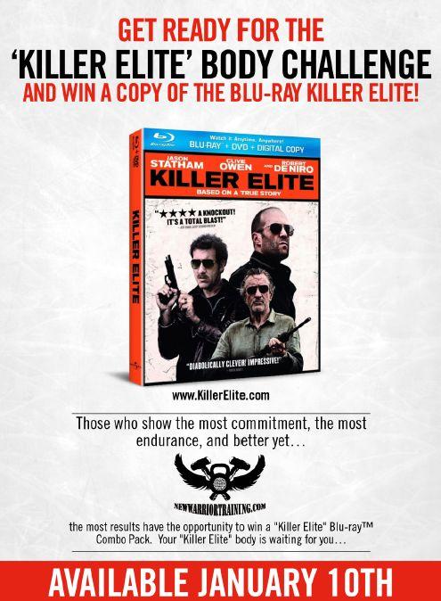 """Killer Elite"" Movie Body Challenge"